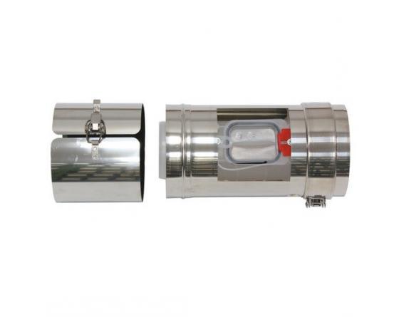 Vaillant Revisionsstück 80/125mm für Fassandenverlegung konz.PP/Edelstahl