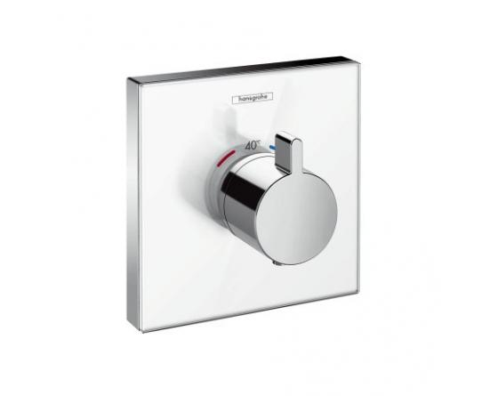 hansgrohe hansgrohe thermostat up showerselect glas 15734400. Black Bedroom Furniture Sets. Home Design Ideas