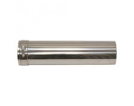 Vaillant Verlängerung 0,5m kürzb. 80/125 mm Fassandenverlegung konz. PP/Edelstahl