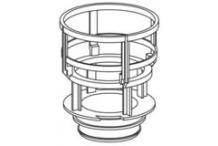 Mepa-Pauli und Menden Ablaufkorb mit Dichtung, Sanicontrol UPSK Typ A31/B31 590220