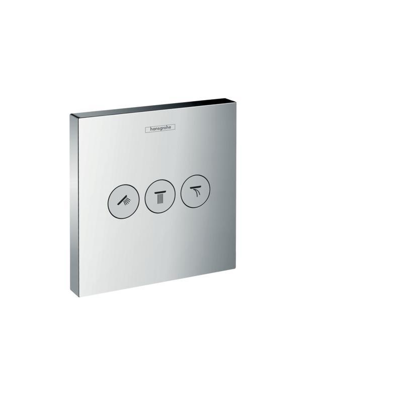 Hansgrohe HG ShowerSelect Ventil für 3 Verbraucher chrom 15764000