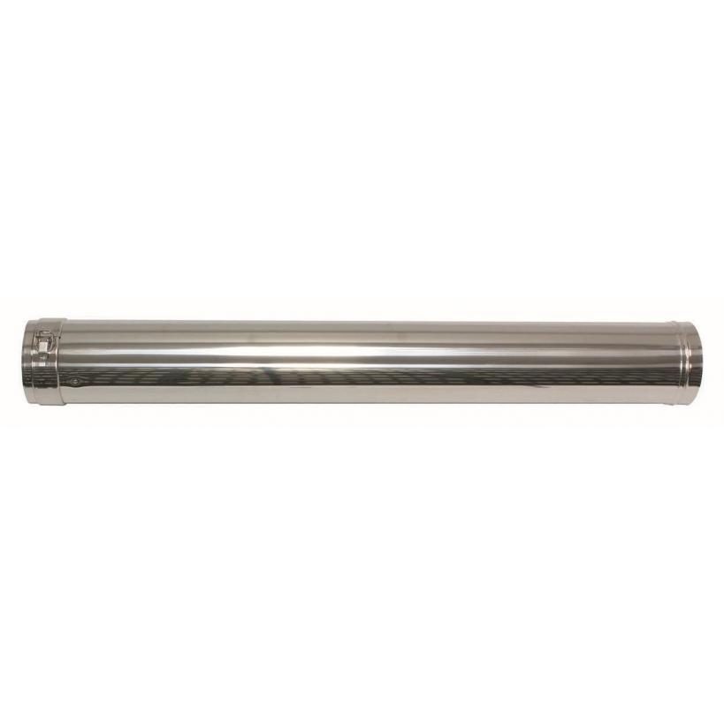 Vaillant Verlängerung 1 m, 80/125mm für Fassandenverlegung konzentrisch PP/Edelstahl