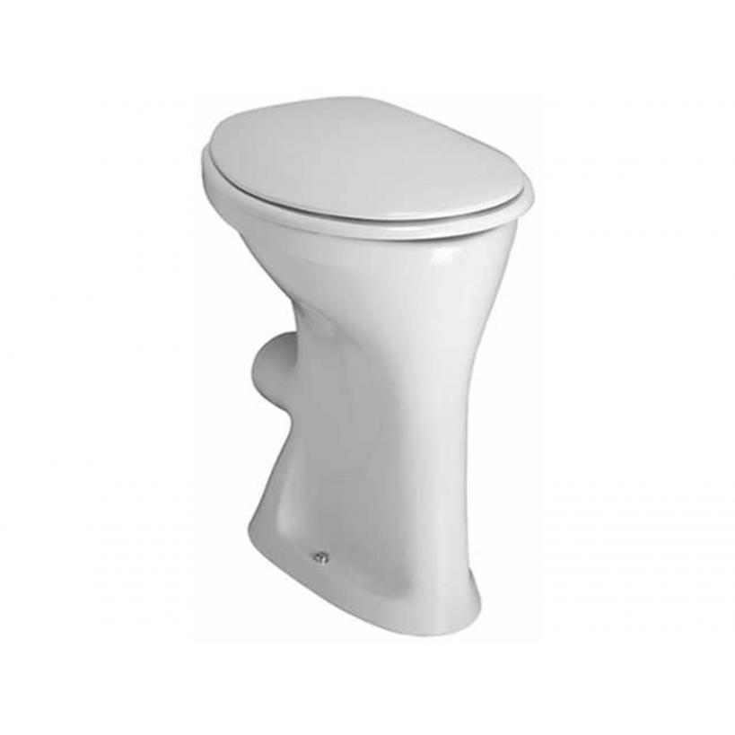 Laufen Flachspül-WC ALBONOVA Abgang waagrecht weiss 8219900000001