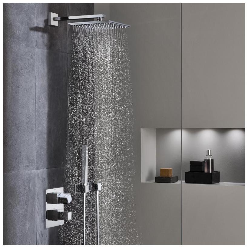 Grohe Rainshower Kopfbrauseset F-Series 10'' Brausearm DF: 9,5l/min chrom 26070000