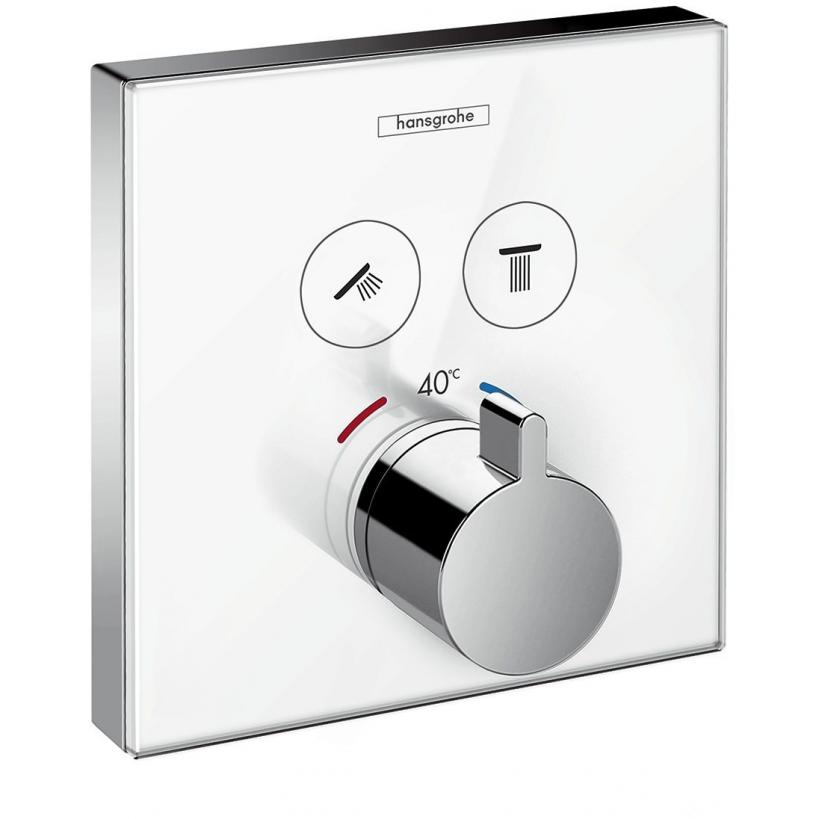 Hansgrohe HG ShowerSelect UP-Thermostat weiß/chrom 15738400