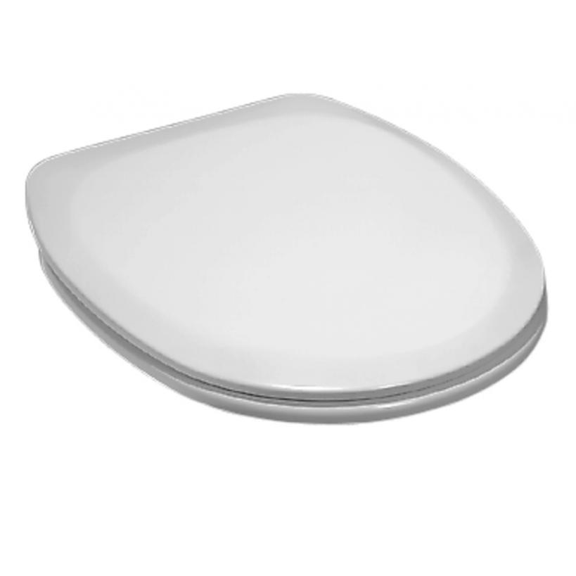 Laufen Object WC-Sitz mit Deckel weiß Scharniere edelstahl 8902100000631
