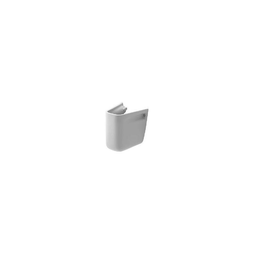 Duravit D-Code Halbsäule zu Handwaschbecken 45cm, weiß 08571700002