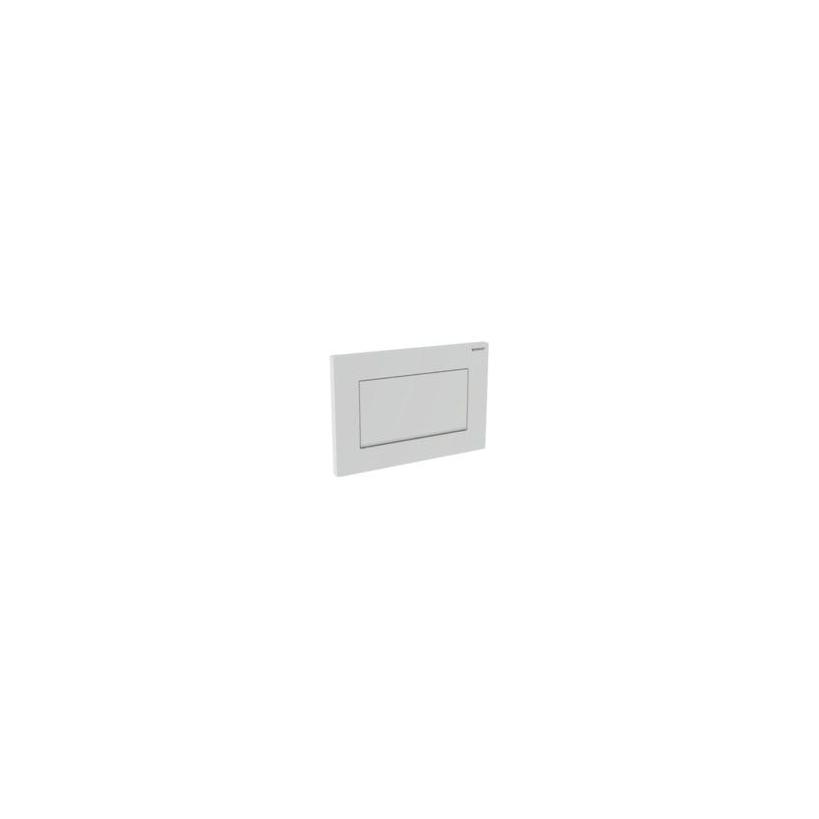 Geberit Sigma 30 1-M Betätigungsplatte weiß/glanz/weiß 115893KJ1
