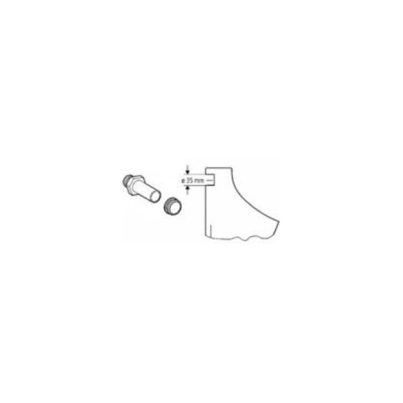 Grohe-Dal Urinal Einlaufgarnitur 37044000