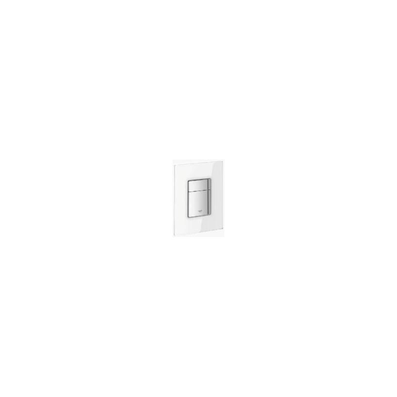 Grohe Skate Cosmopolitan Abdeckplatte mit Glasoberfläche frosted white 38845MF0