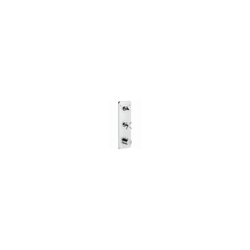 Hansgrohe HG Thermostatmodul Unterputz Axor Citterio E Fertigset 2 Verbraucher chrom 36703000