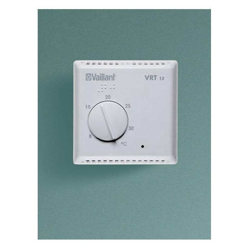 Vaillant Raumthermostat VRT 15 ohne Schaltuhr, für 2-Punktregelung 306777